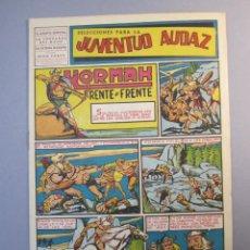Tebeos: JUVENTUD AUDAZ (1947, VALENCIANA) 14 · 1951 · SELECCIONES PARA LA JUVENTUD AUDAZ. Lote 155724074