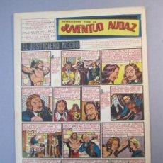 Tebeos: JUVENTUD AUDAZ (1947, VALENCIANA) 7 · 1951 · DISTRACCIONES PARA LA JUVENTUD AUDAZ. Lote 155725438