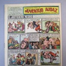 Tebeos: JUVENTUD AUDAZ (1947, VALENCIANA) 4 · 1951 · HISTORIETAS PARA LA JUVENTUD AUDAZ. Lote 155725882
