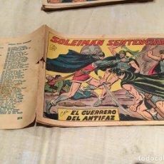 Tebeos: EL GUERRERO DEL ANTIFAZ - Nº274 - SOLEIMAN SENTENCIADO -EDITORIAL VALENCIANA . Lote 155728466