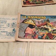 Tebeos: EL GUERRERO DEL ANTIFAZ - Nº522 - LA TEMPESTAD -EDITORIAL VALENCIANA . Lote 155730750