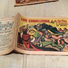 Tebeos: EL GUERRERO DEL ANTIFAZ - Nº523 - LOS CABALLEROS DEL LEON -EDITORIAL VALENCIANA . Lote 155731078