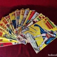Tebeos: ORIGINAL EL GUERRERO DEL ANTIFAZ LOS 16 ALMANAQUES Y EXTRAS DE LOS AÑOS 70/80 COMPLETA BUEN ESTADO!!. Lote 155754442