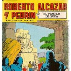 Tebeos: ROBERTO ALCAZAR Y PEDRÍN. Nº 211. EL TEMPLO DE BUDA. REEDICIÓN VALENCIANA.(ST/C22). Lote 155760382