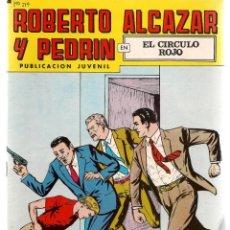 Tebeos: ROBERTO ALCAZAR Y PEDRÍN. Nº 219. EL CIRCULO ROJO. REEDICIÓN VALENCIANA.(ST/C22). Lote 155760794