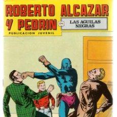 Tebeos: ROBERTO ALCAZAR Y PEDRÍN. Nº 134. LAS ÁGUILAS NEGRAS. REEDICIÓN VALENCIANA.(ST/C22). Lote 155761390