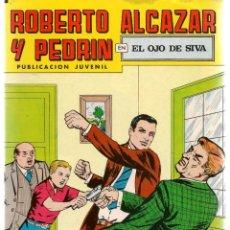Tebeos: ROBERTO ALCAZAR Y PEDRÍN. Nº 207. EL OJO DE SIVA. REEDICIÓN VALENCIANA.(ST/C22). Lote 155761586