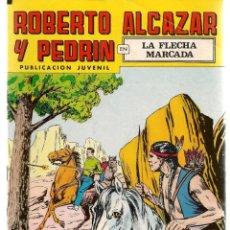 Tebeos: ROBERTO ALCAZAR Y PEDRÍN. Nº 208. LA FLECHA MARCADA. REEDICIÓN VALENCIANA.(ST/C22). Lote 155761758