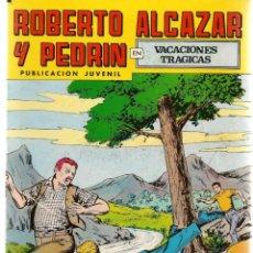 Tebeos: ROBERTO ALCAZAR Y PEDRÍN. Nº 210. VACACIONES TRÁGICAS. REEDICIÓN VALENCIANA.(ST/C22). Lote 155761994