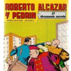 Tebeos: ROBERTO ALCAZAR Y PEDRÍN. Nº 236. EL DOCUMENTO SECRETO. REEDICIÓN VALENCIANA.(ST/C22). Lote 155762514