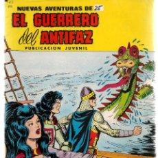Livros de Banda Desenhada: NUEVAS AVENTURAS EL GUERRERO DEL ANTIFAZ. Nº 63. EL MONSTRUO DEL MAR NEGRO. VALENCIANA.(ST/C22). Lote 155766126