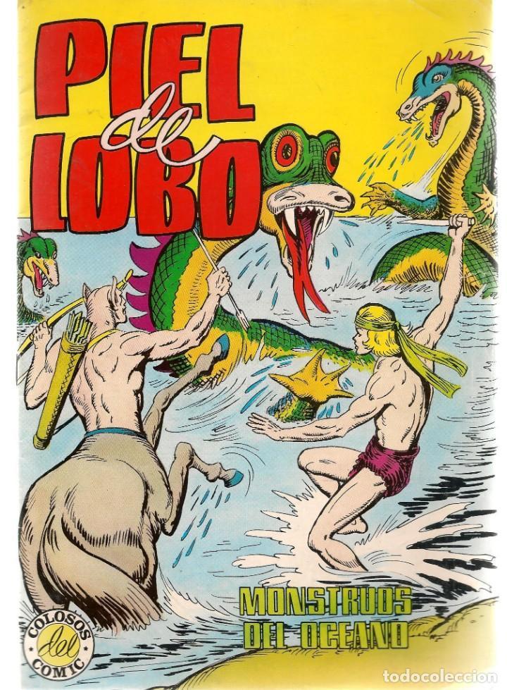PIEL DE LOBO. Nº 5. MONSTRUOS DEL OCÉANO. COLOSOS DEL COMIC. VALENCIANA.(ST/C22) (Tebeos y Comics - Valenciana - Selección Aventurera)