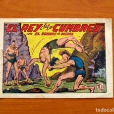 Tebeos: EL HOMBRE DE PIEDRA, Nº 133, EL REY DE LAS CUMBRES - EDITORIAL VALENCIANA 1950. Lote 155899586