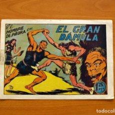 Tebeos: EL HOMBRE DE PIEDRA, Nº 14, EL GRAN DÁMULA - EDITORIAL VALENCIANA 1950. Lote 155900682