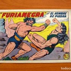 Tebeos: EL HOMBRE DE PIEDRA, Nº 140, FURIANEGRA - EDITORIAL VALENCIANA 1950. Lote 155900870
