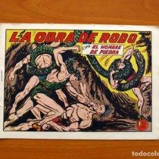 Tebeos: EL HOMBRE DE PIEDRA, Nº 162, LA OBRA DE RODO - EDITORIAL VALENCIANA 1950. Lote 155901214