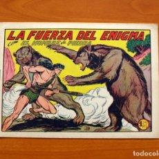 Tebeos: EL HOMBRE DE PIEDRA, Nº 181, LA FUERZA DEL ENIGMA - EDITORIAL VALENCIANA 1950 - SIN ABRIR. Lote 155901662