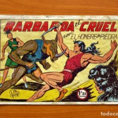 Tebeos: EL HOMBRE DE PIEDRA, Nº 31, BARBAROA EL CRUEL - EDITORIAL VALENCIANA 1950. Lote 155902806