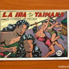 Tebeos: EL HOMBRE DE PIEDRA, Nº 34, LA IRA DE LOS TAIMAKS - EDITORIAL VALENCIANA 1950. Lote 155903798