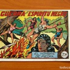 Tebeos: EL HOMBRE DE PIEDRA, Nº 36, GUERRA AL ESPÍRITU NEGRO - EDITORIAL VALENCIANA 1950. Lote 155904238