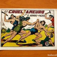 Tebeos: EL HOMBRE DE PIEDRA, Nº 40, EL CRUEL AMEURO - EDITORIAL VALENCIANA 1950 - SIN ABRIR. Lote 155905142