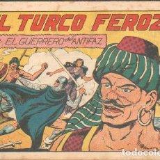 Tebeos: EL TURCO FEROZ.EL GUERRERO DEL ANTIFAZ. Nº 135. A-COMIC-5044. Lote 155977150