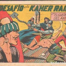 Tebeos: EL DESAFIO DE KAHER RAIK.EL GUERRERO DEL ANTIFAZ. Nº 136.A-COMIC-5045. Lote 155977370