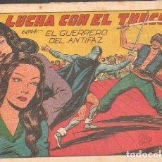 Tebeos: LUCHA CON EL TURCO.EL GUERRERO DEL ANTIFAZ. Nº 139.A-COMIC-5048. Lote 155983842