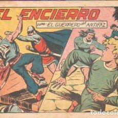 Tebeos: EL ENCIERRO.EL GUERRERO DEL ANTIFAZ. Nº 140. A-COMIC-5049. Lote 155987086