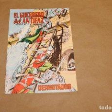 Tebeos: EL GUERRERO DEL ANTIFAZ Nº 137, VALENCIANA COLOR. Lote 156217210