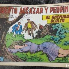 Tebeos: ROBERTO ALCAZAR Y PEDRIN EL ENEMIGO OCULTO Nº 1188 ORIGINAL. Lote 156234906