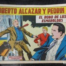 Tebeos: ROBERTO ALCAZAR Y PEDRIN EL ROBO DE LAS ESMERALDAS Nº 1169 ORIGINAL. Lote 156273254