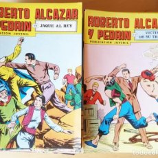 Tebeos: FANTASTICO LOTE DE 138 TEBEOS ROBERTO ALCAZAR Y PEDRIN. Lote 156516878