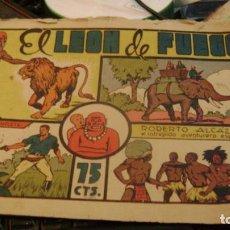 Tebeos: ROBERTO ALCAZAR EL LEON DE FUEGO NUM 77 O 79 75 CTS PRIMERA EDICION CJ 22. Lote 156523866