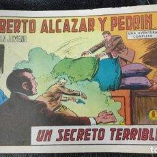 Tebeos: ROBERTO ALCAZAR Y PEDRIN UN SECRETO TERRIBLE Nº 1178 ORIGINAL. Lote 156531158