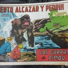 Tebeos: ROBERTO ALCAZAR Y PEDRIN LAS GARRAS DE PIMBO Nº 1180 ORIGINAL. Lote 156531658