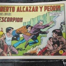 Tebeos: ROBERTO ALCAZAR Y PEDRIN EL ESCORPION Nº 1183 ORIGINAL. Lote 156535226
