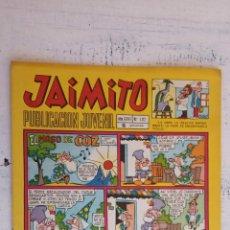 Tebeos: JAIMITO Nº 1112 - EDI. VALENCIANA 1971. Lote 156564830