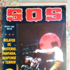 Tebeos: SOS - II ÉPOCA- Nº 12 - CÓMIC TERROR A LA ESPAÑOLA- 1981-MANUEL GAGO-CORRECTO-MUY DIFÍCIL-LEAN- 0577. Lote 156647114