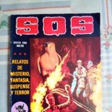 Tebeos: SOS - II ÉPOCA- Nº 14 -CÓMIC TERROR A LA ESPAÑOLA-1981-MANUEL GAGO-VAÑÓ-BUENO-MUY DIFÍCIL-LEAN- 0578. Lote 156648034