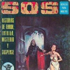 Tebeos: SOS -I ÉPOCA - Nº 20 -E. VAÑÓ- A. ELÍAS- MORENO CASARES-1975- MUY DIFÍCIL-BUENO-LEAN-0586. Lote 156666802