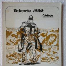 Tebeos: CATALOGO 5° SALON DEL COMIC VALENCIA 1980. Lote 156786170