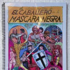 Tebeos: LA ULTIMA AVENTURA DEL CABALLERO DE LA MASCARA NEGRA MUY RARO. Lote 156786916