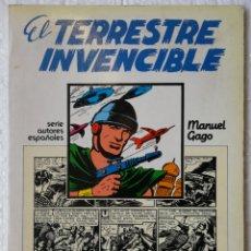 Tebeos: EL TERRESTRE INVENCIBLE MANUEL GAGO TOMO REVIVAL COMICS. Lote 156787170