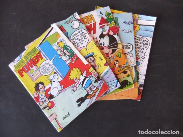 MINI ALBUM PUMBY LOTE DE 5 NUMEROS EDITORIAL VALENCIANA (Tebeos y Comics - Valenciana - Pumby)