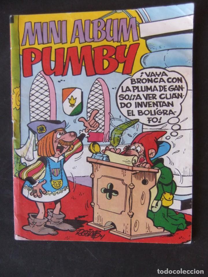 Tebeos: MINI ALBUM PUMBY LOTE DE 5 NUMEROS EDITORIAL VALENCIANA - Foto 6 - 156817354