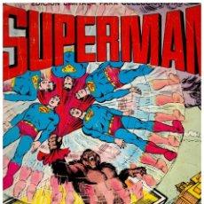 Tebeos: SUPERMAN -ÁLBUM GIGANTE-EDICIÓN LIMITADA PARA COLECCIONISTAS.VALENCIANA,1976.. Lote 156910798