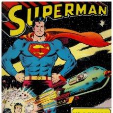 Tebeos: SUPERMAN -ÁLBUM GIGANTE- LAS 6 MEJORES AVENTURAS.VALENCIANA,1976.. Lote 156911194