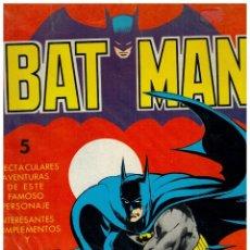 Tebeos: BAT MAN. ÁLBUM GIGANTE- EL CASO QUE BATMAN NO PUDO RESOLVER. VALENCIANA,1976. BUENO.. Lote 156911562