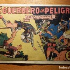 Tebeos: TEBEO - COMIC - EL GUERRERO DEL ANTIFAZ - Nº 65 - EL GUERRERO EN PELIGRO - VALENCIANA. Lote 157005062